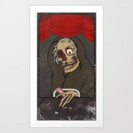 The Creep Art Print