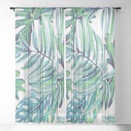 Rising Tropicana Sheer Curtain