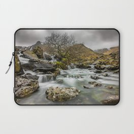 Lone Tree On The River Laptop Sleeve