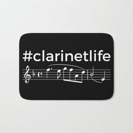 #clarinetlife (dark colors) Bath Mat