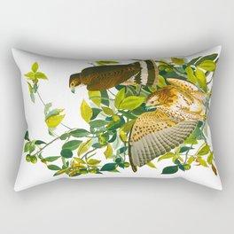 Broad Winged Hawk Rectangular Pillow