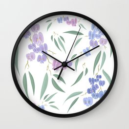 Australian native lilac Wall Clock