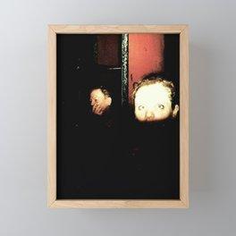 Surprised Subject in Alphabet City, New York Framed Mini Art Print