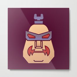 Robot Body Metal Print