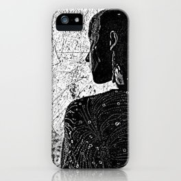 Lacking the emotional landscapes , the riddle might get solved iPhone Case