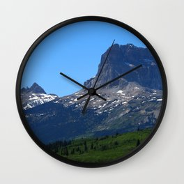 Chief Mountain Wall Clock
