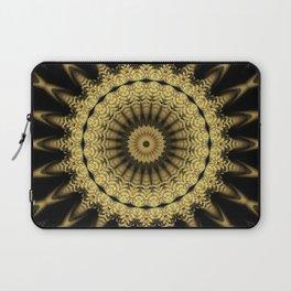 Golden extravaganza mandala Laptop Sleeve