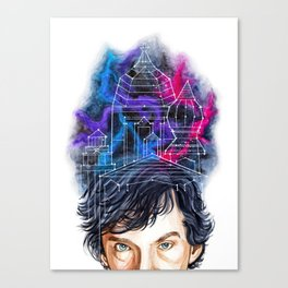 Sherlock Holmes: Mind Palace Canvas Print
