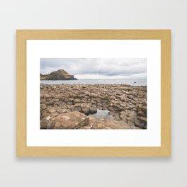 Giants Causeway in Ireland Framed Art Print