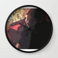 helen Wall Clocks featuring Helen by Lazaros