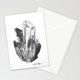Crystal Cluster Stationery Cards