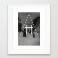 witch Framed Art Prints featuring Witch by A C U L T