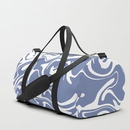 Soft Violet Liquid Marble Effect Design Duffle Bag