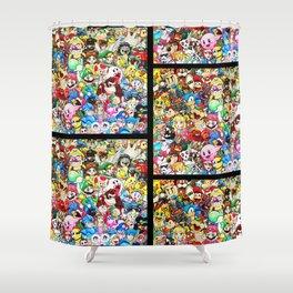 Nintendo Tribute Shower Curtain