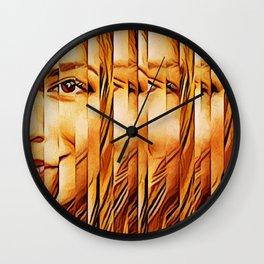 Golden Oranje Dutch Royalty Wall Clock