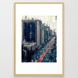 Paulista Avenue Framed Art Print