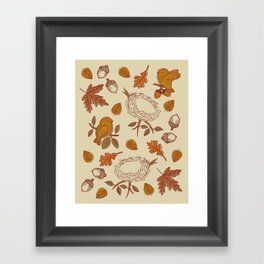 Fly Away Fall Framed Art Print