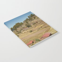 Houses of Local Peruvian People Living on Taquile Island, Peru Notebook