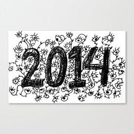 Eye in 2014 Canvas Print