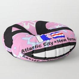 Atlantic City - New Jersey. Floor Pillow