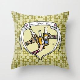 Salutem! Throw Pillow