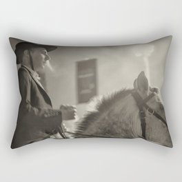 Feira da Golegã 2015 2 Horse Rectangular Pillow
