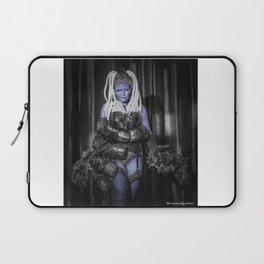 The diva blue Laptop Sleeve