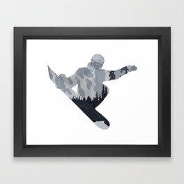 Snowboard Exposure SP | DopeyArt Framed Art Print