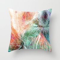 wizard Throw Pillows featuring Wizard by gui.