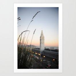 Ferry Building 2 Art Print