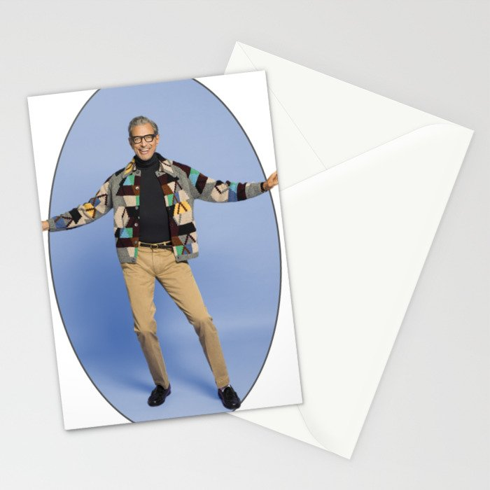 The Magnificent Jeff Goldblum Stationery Cards
