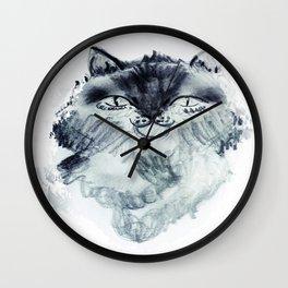 minnoş kedi Wall Clock