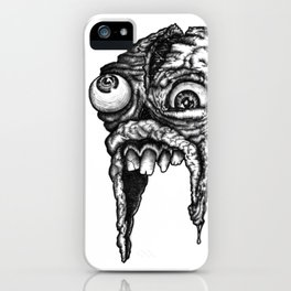 GROATY DUDE - B&W iPhone Case