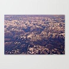 Airplane View Canvas Print