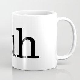 Duh - bad guy - pop art Coffee Mug