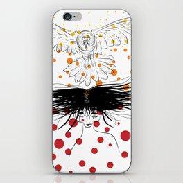 Owl Woman iPhone Skin