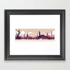 Metal Gear Solid 3 - The Title of Boss Framed Art Print
