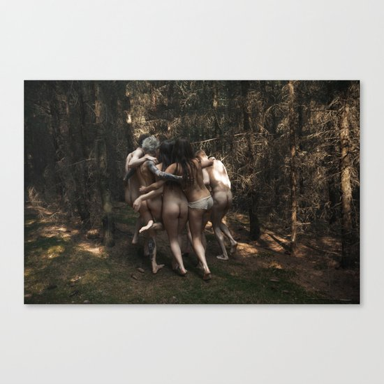 Born Free X Canvas Print
