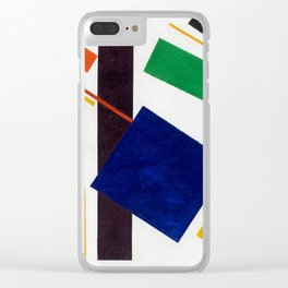 Kazimir Malevich Suprematist Clear iPhone Case