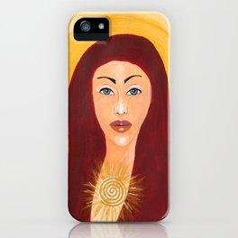 Goddess no 10 iPhone Case