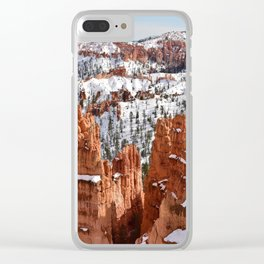 Bryce Canyon - Sunset Point II Clear iPhone Case