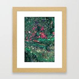 Marble Mess Framed Art Print