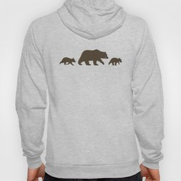 Grizzly Bear Family Hoody