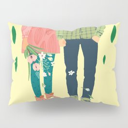 Man and Woman love story Pillow Sham