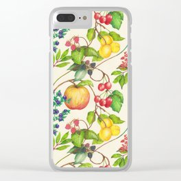 The Joy Of Summer Clear iPhone Case