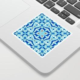 Mediterranean blue tiles Sticker