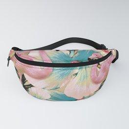 Vintage Flamingo Aloha Fanny Pack
