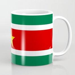 Suriname country flag Coffee Mug
