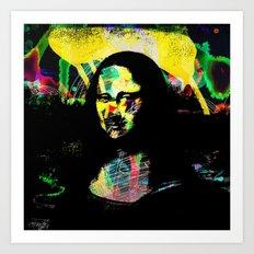 Mona Lisa POP ART PAINTING PRINT Art Print