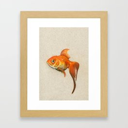 """Goldie"" Framed Art Print"